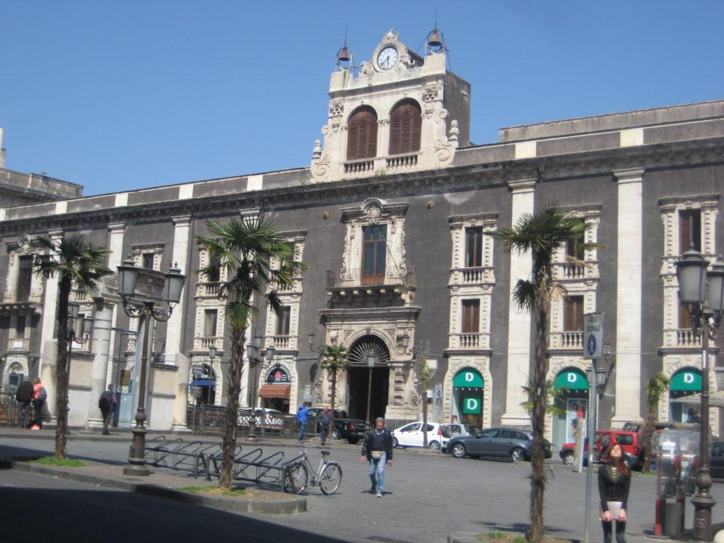 Катания. Palazzo Tezzano
