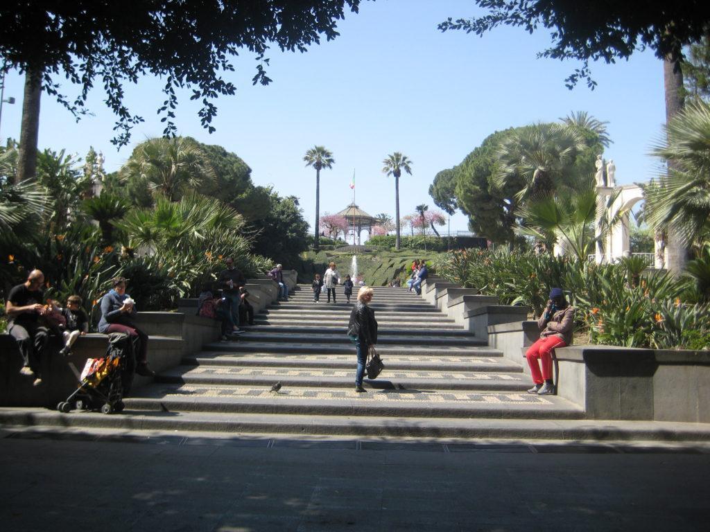 Городской парк Беллини. Катания.