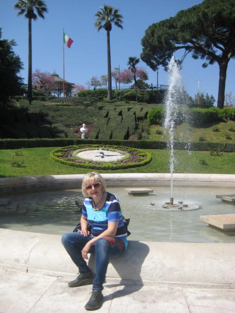 В парке Беллини. Катания.