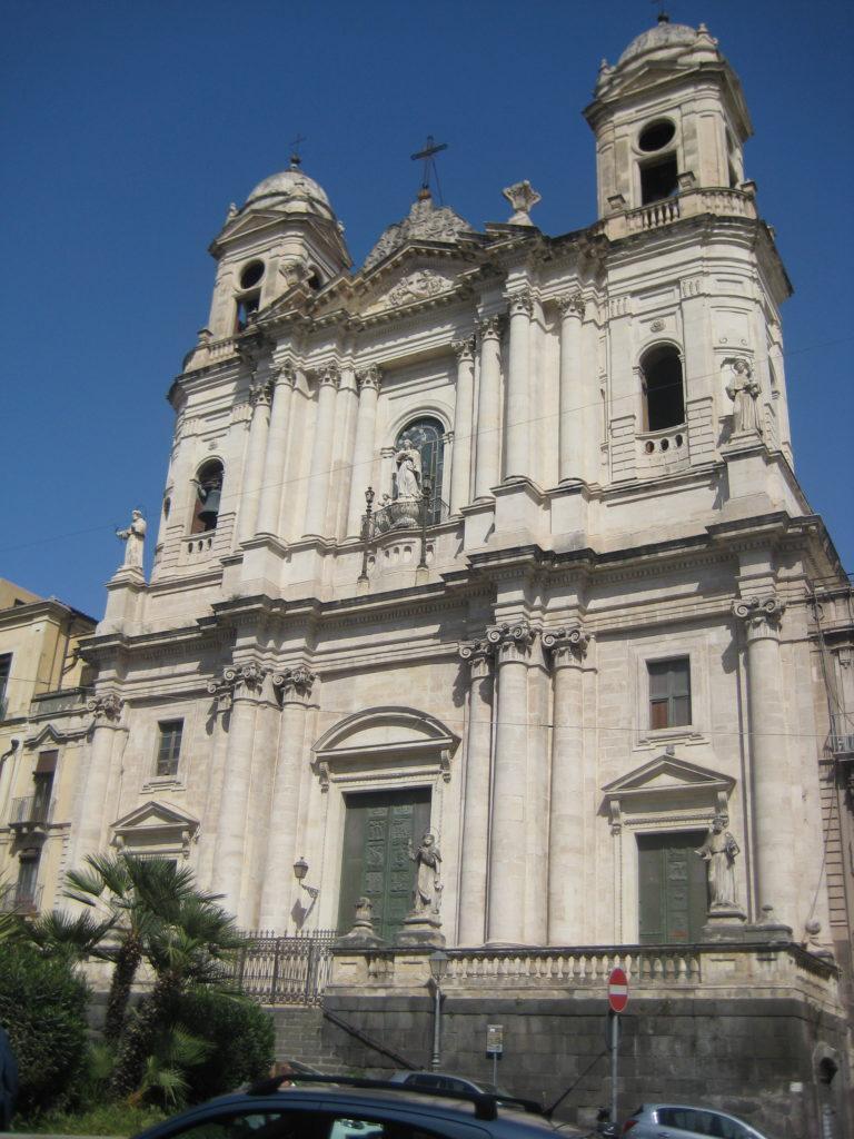 Катания. Церковь святого Франциска Ассизского