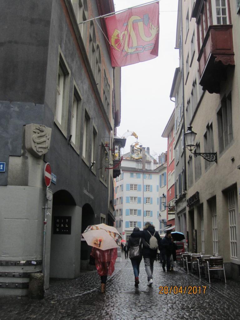 По улицам центра Цюриха