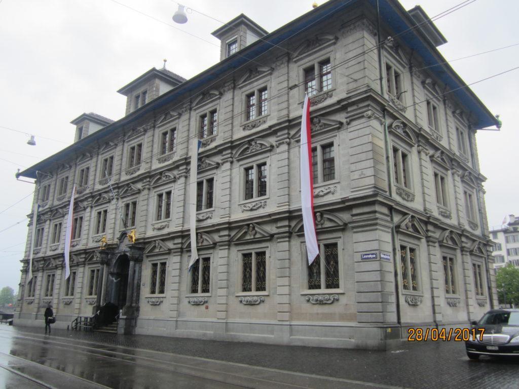 Цюрих. Здание Ратуши