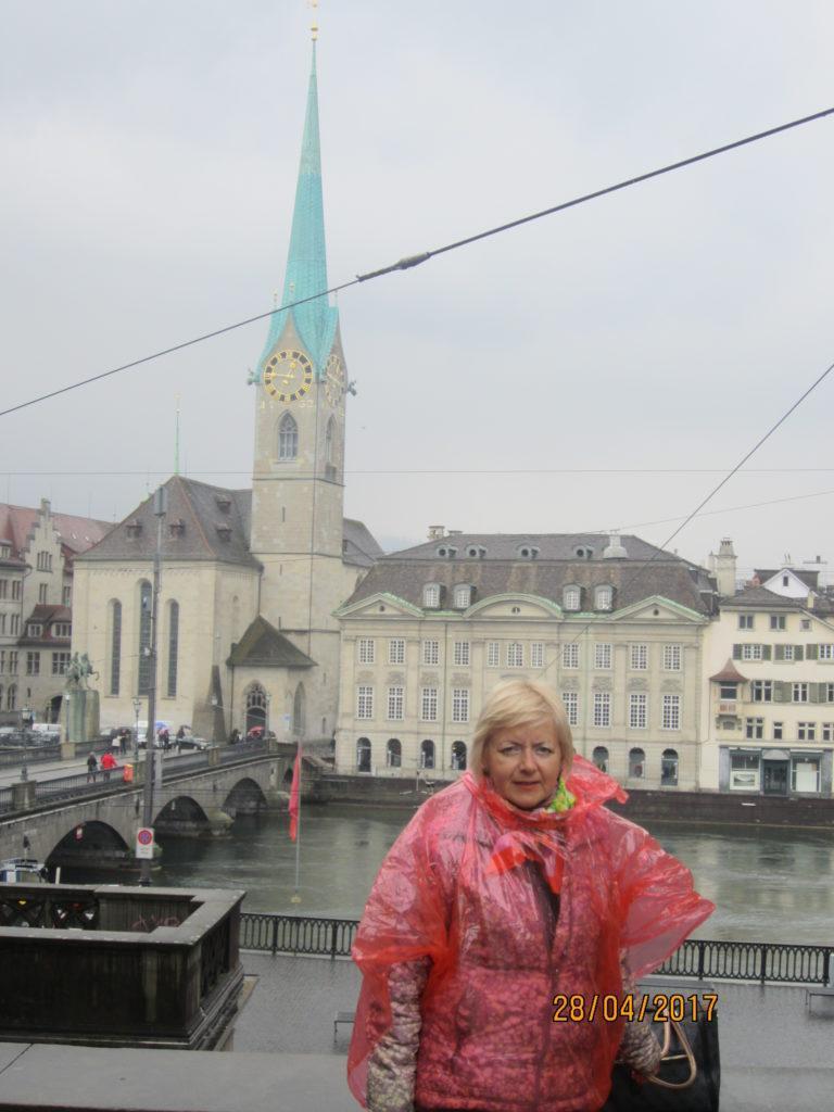 Zurich. Мост через Лиммат
