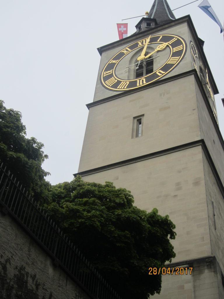 Zurich. Церковь St. Peter