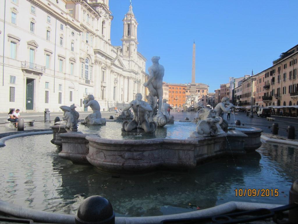 Пьяцца Навона ( Piazza Navona). Рим