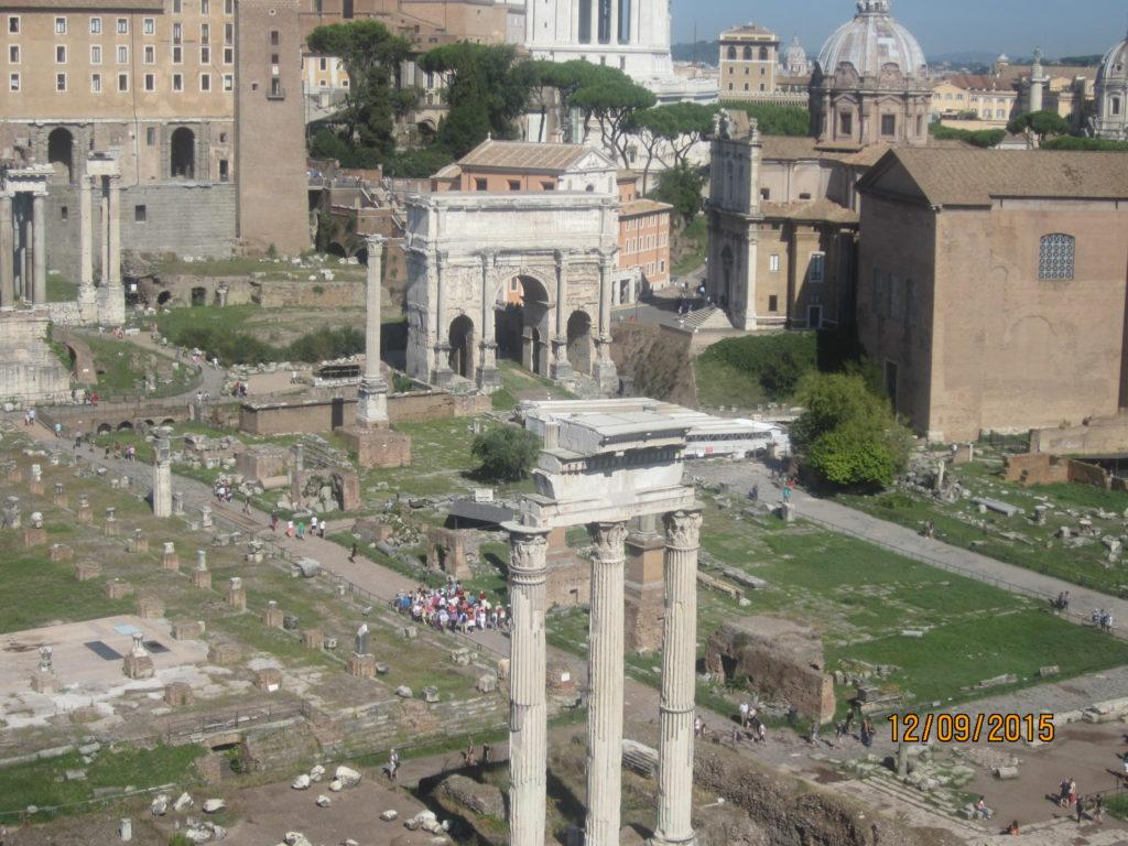 Античный Форум. Рим
