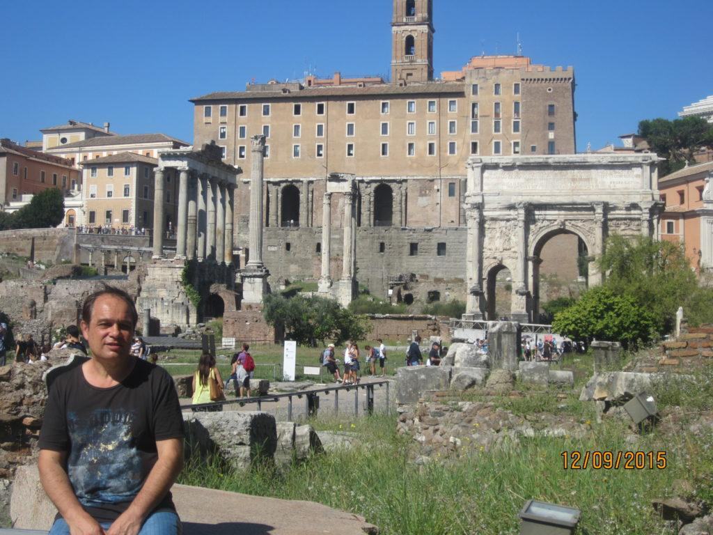 Вид на Римские Форумы