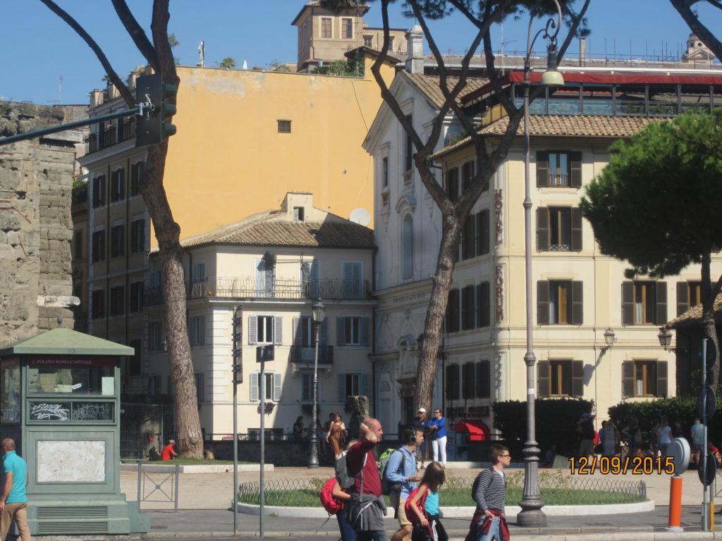 Улица Fori Imperiali. Рим