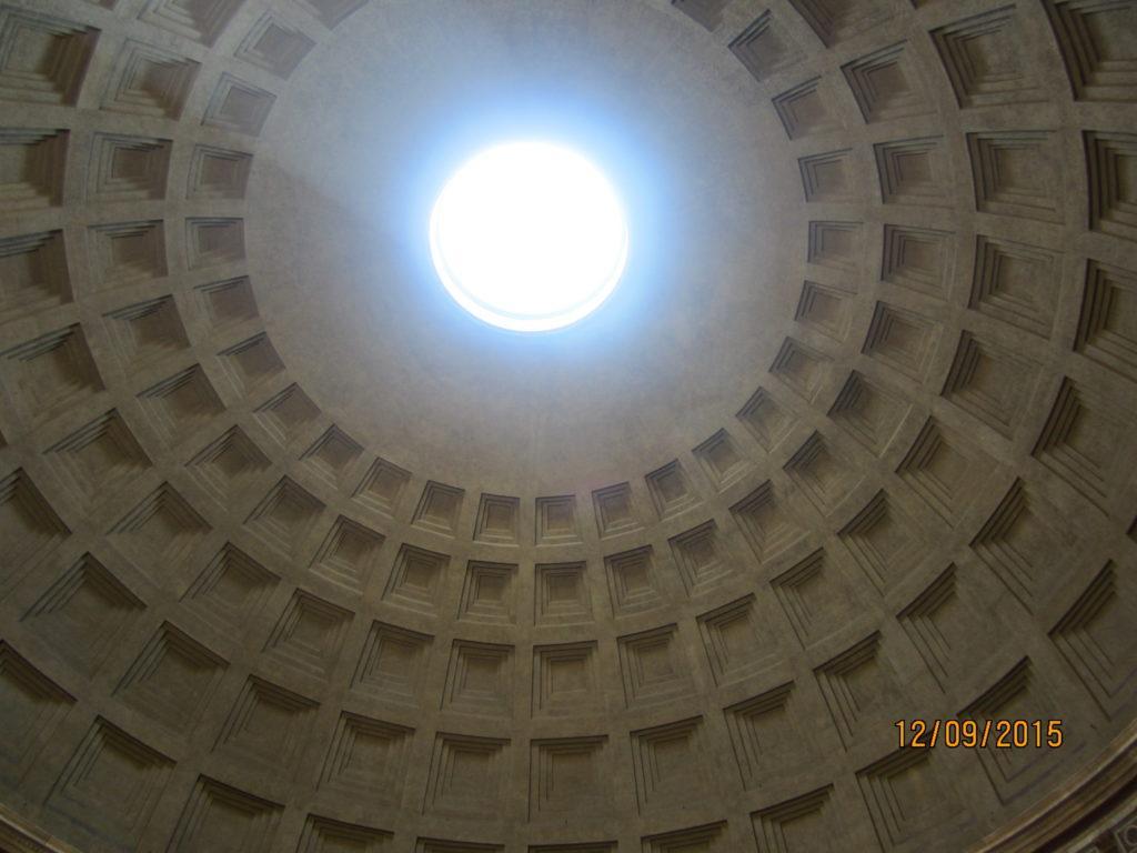Окулюс. Пантеон. Рим