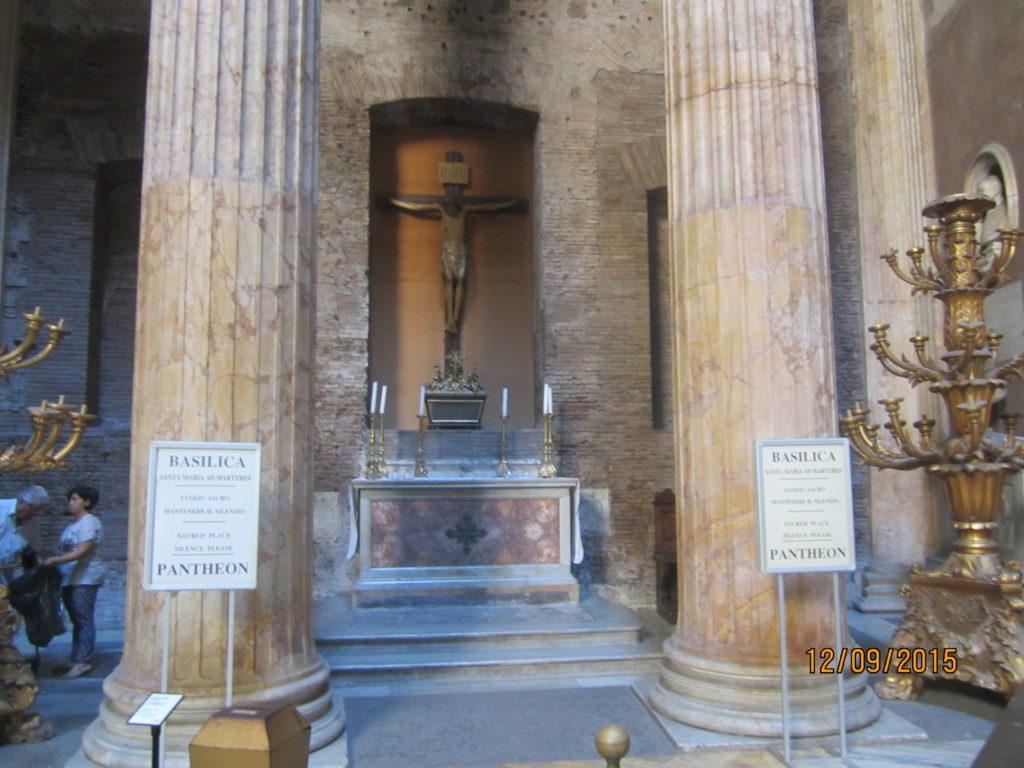 Пантеон внутри. Рим