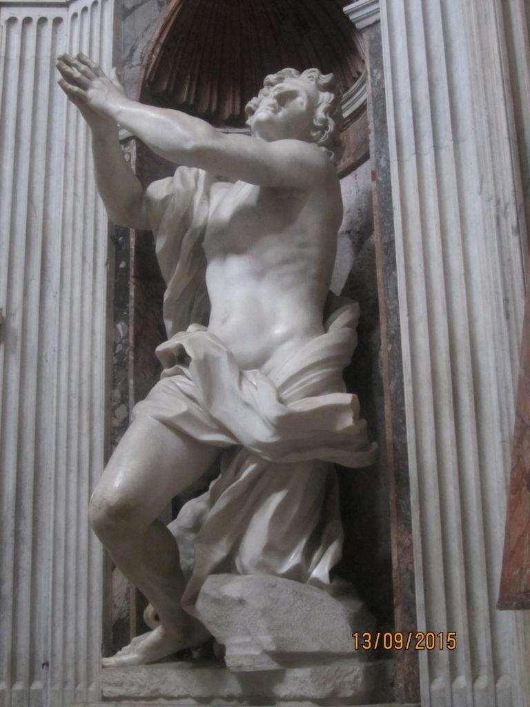 Пьяцца-дель-Пополо. Церковь Santa Maria del Popolo.