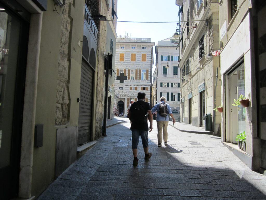 На площадь Сан-Лоренцо