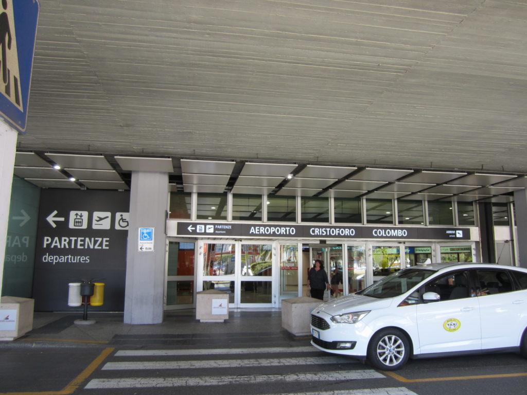 Аэропорт Генуя.