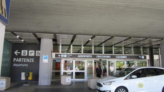 Как добраться из/в   аэропорт Генуи имени Христофора Колумба.