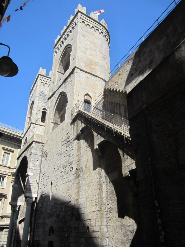 Ворота Порта Сопрана. Генуя.