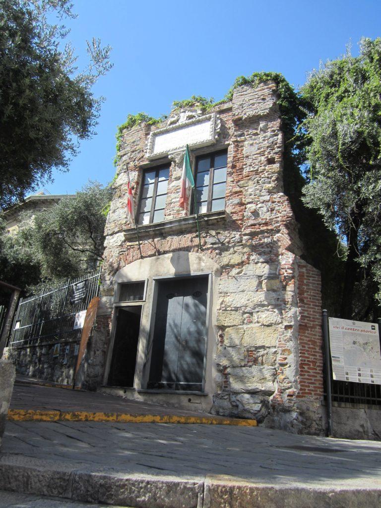 Дом Колумба. Генуя.