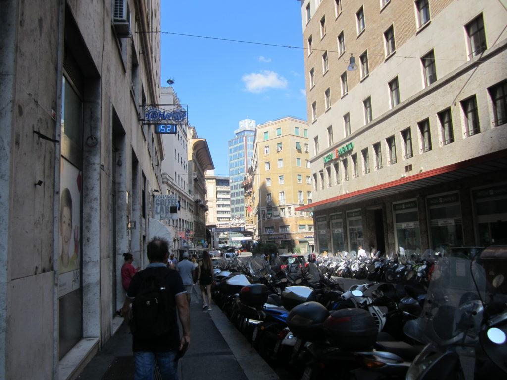 Генуя. Площадь Данте
