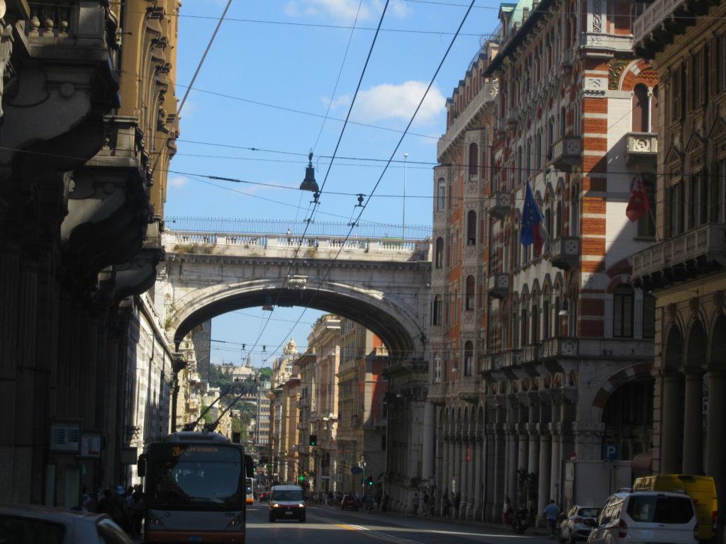 Улица XX Сентября. Генуя.