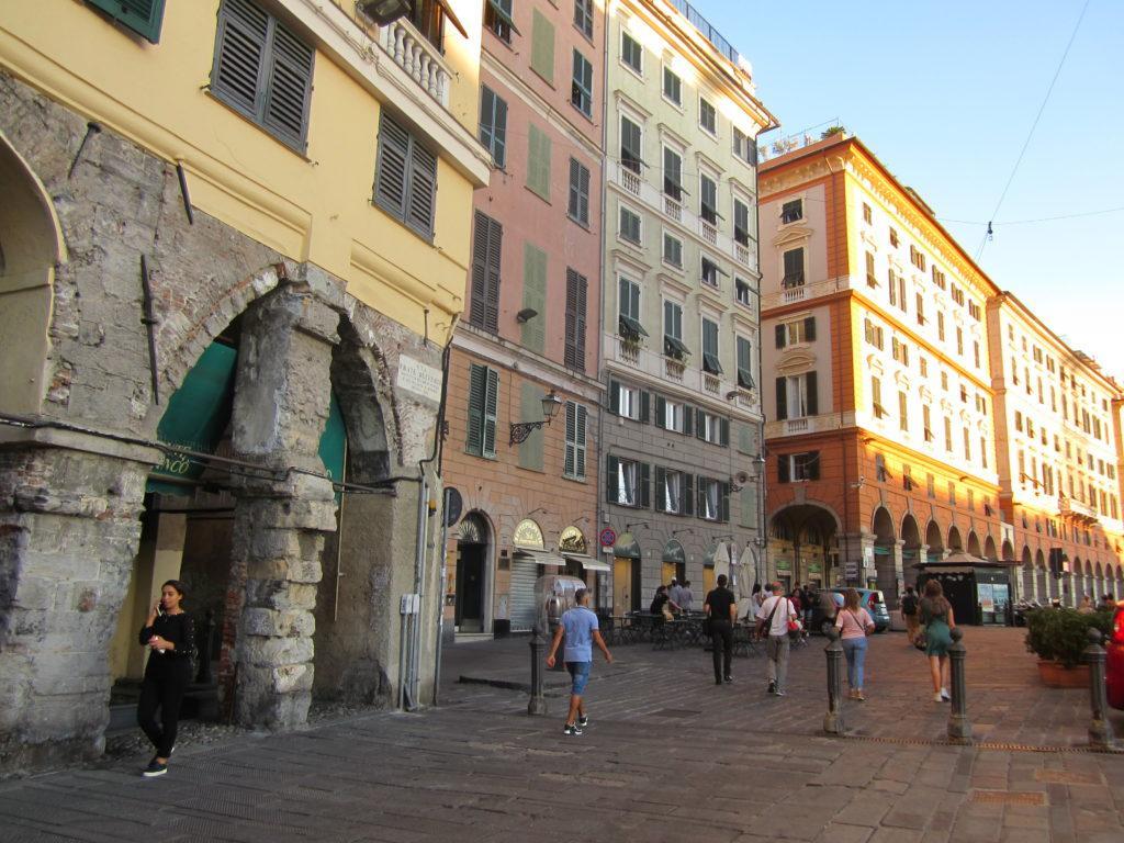 Генуя. Via Sottoripa