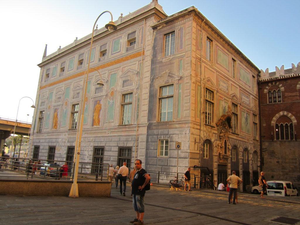 Генуя. Дворец Сан-Джорджио.