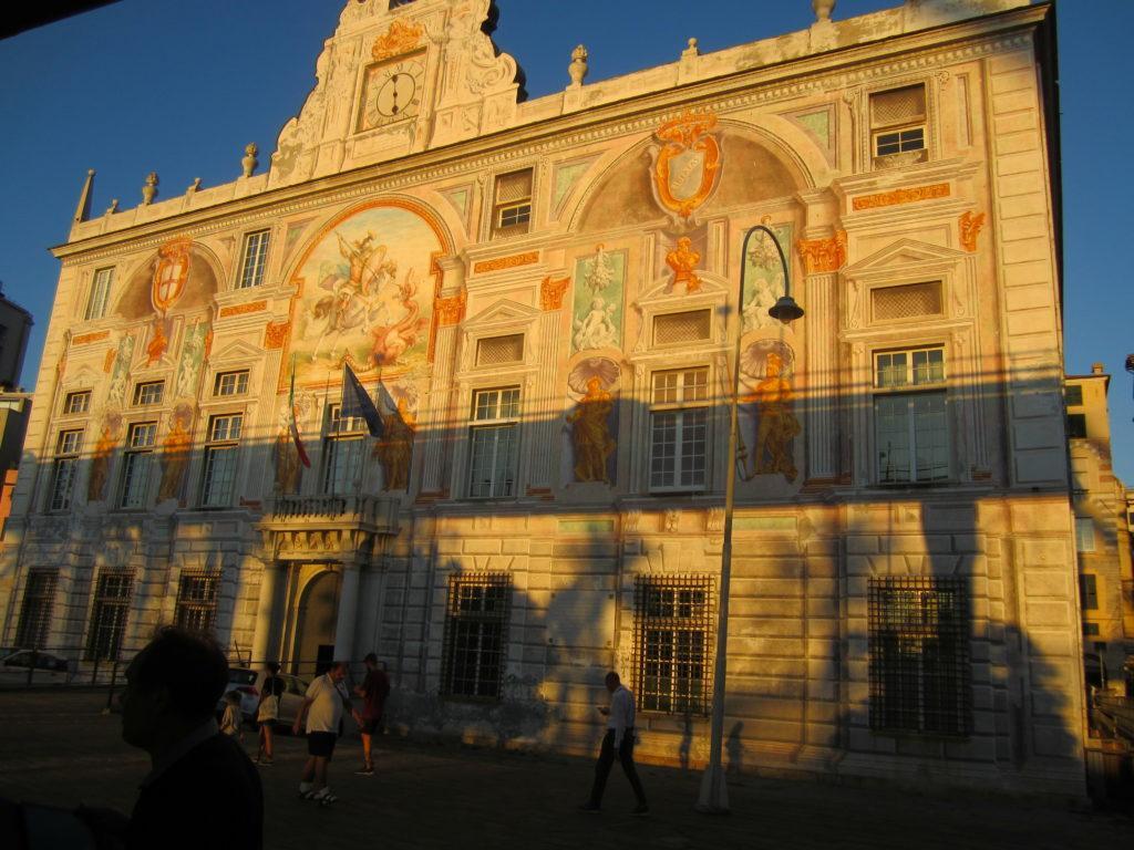 Генуя. Дворец св. Георгия
