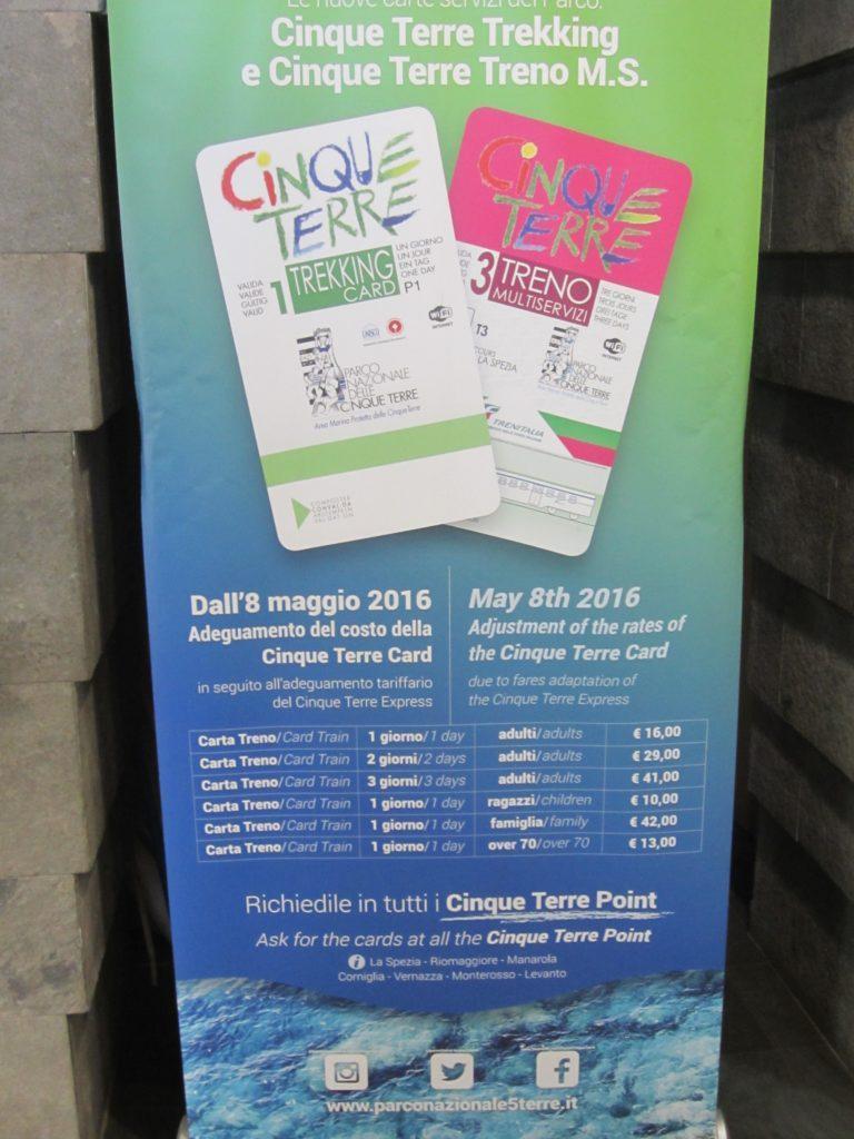 Билеты в Чинкве Терре.