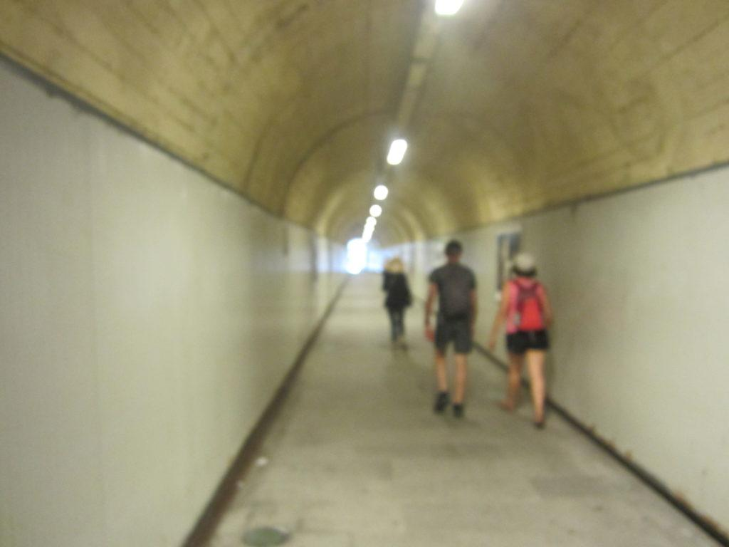 Туннель в Манарола