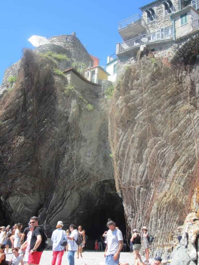 Вход в Вернацца с моря.