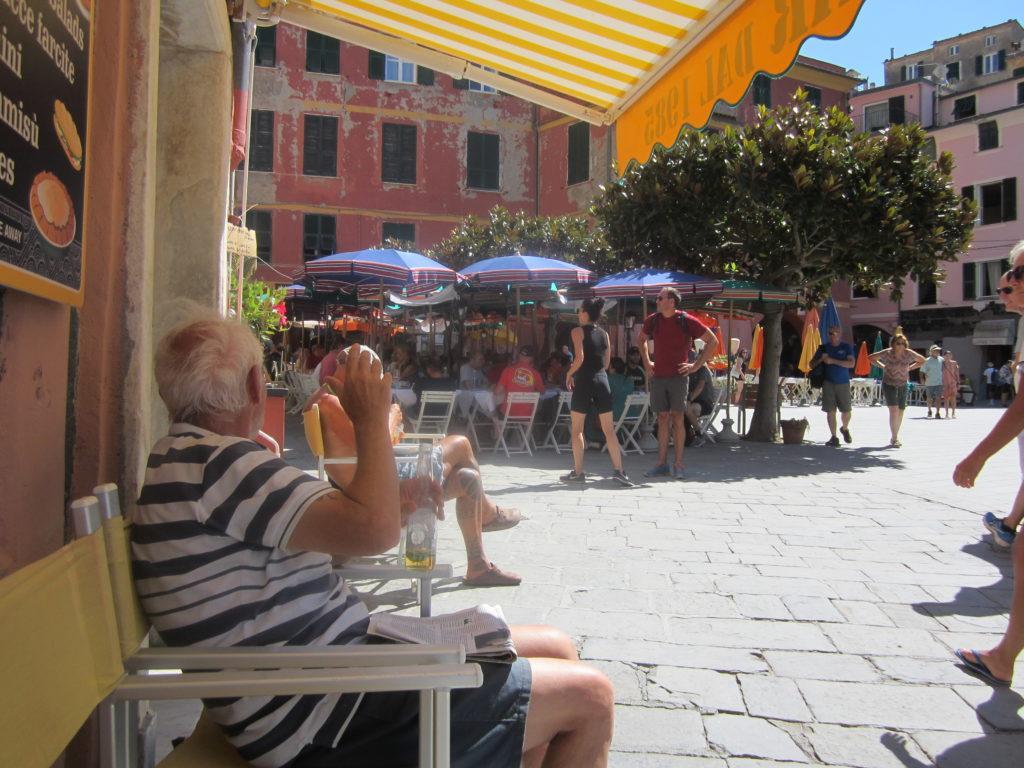 В Вернацце, на площади