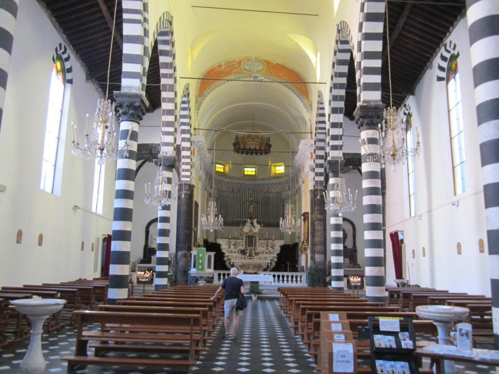 Монтероссо. В церкви Св. Джованни Батисты