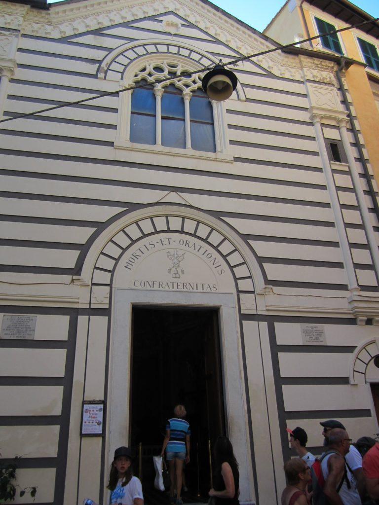 Монтероссо. В oratorio Della Confraternita Mortis Et Orationis