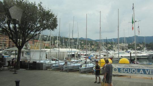 Городок Санта Маргерита Лигуре (Santa Margherita Ligure). Италия.