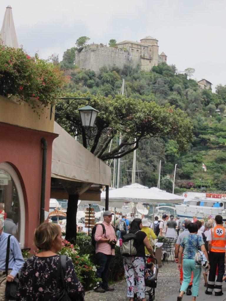 Улица в Portofino.