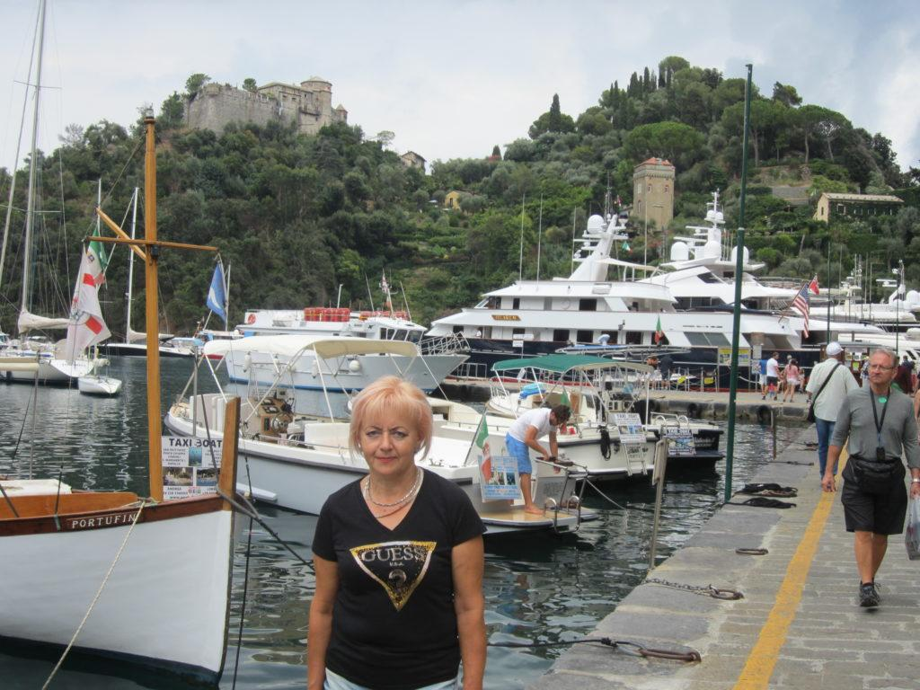 У причала в Portofino..