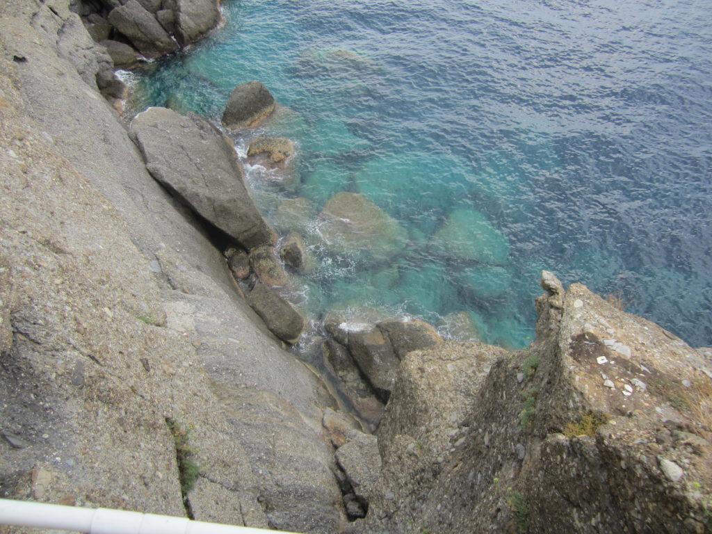 Вид на Лигурийское побережье от Собора Св. Георгия