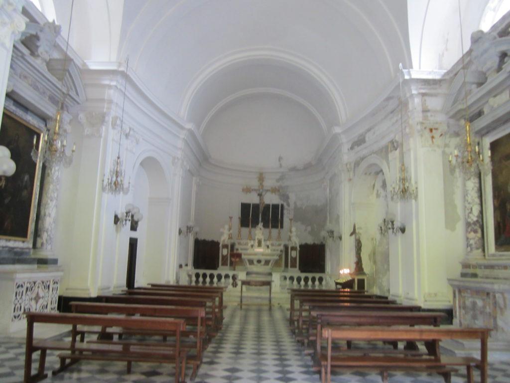 В соборе Святого Георгия. Портофино