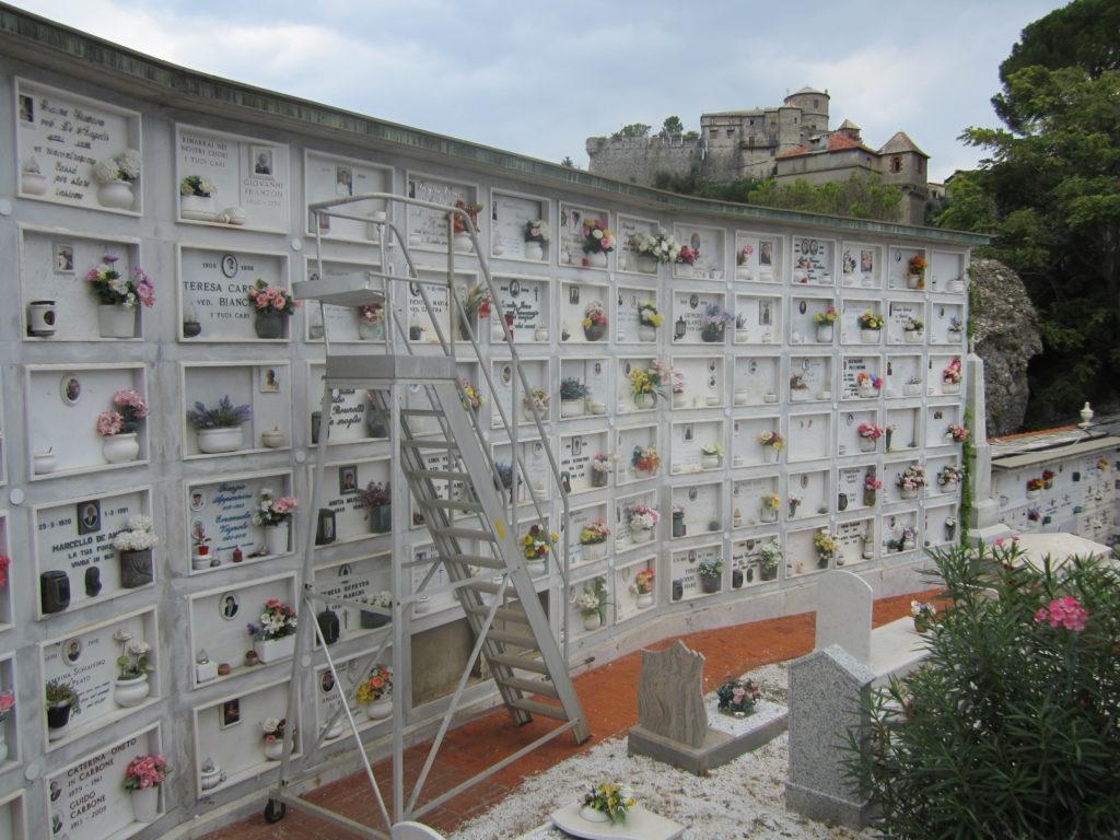 Колумбарий в Портофино.