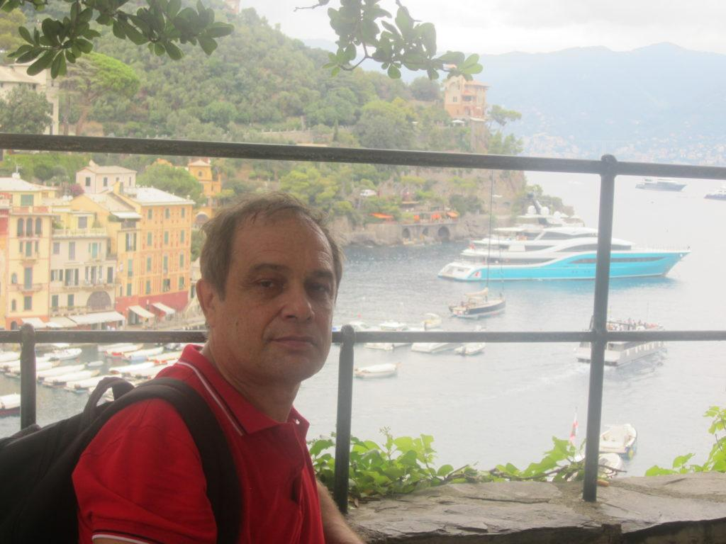 Гавань в Portofino.