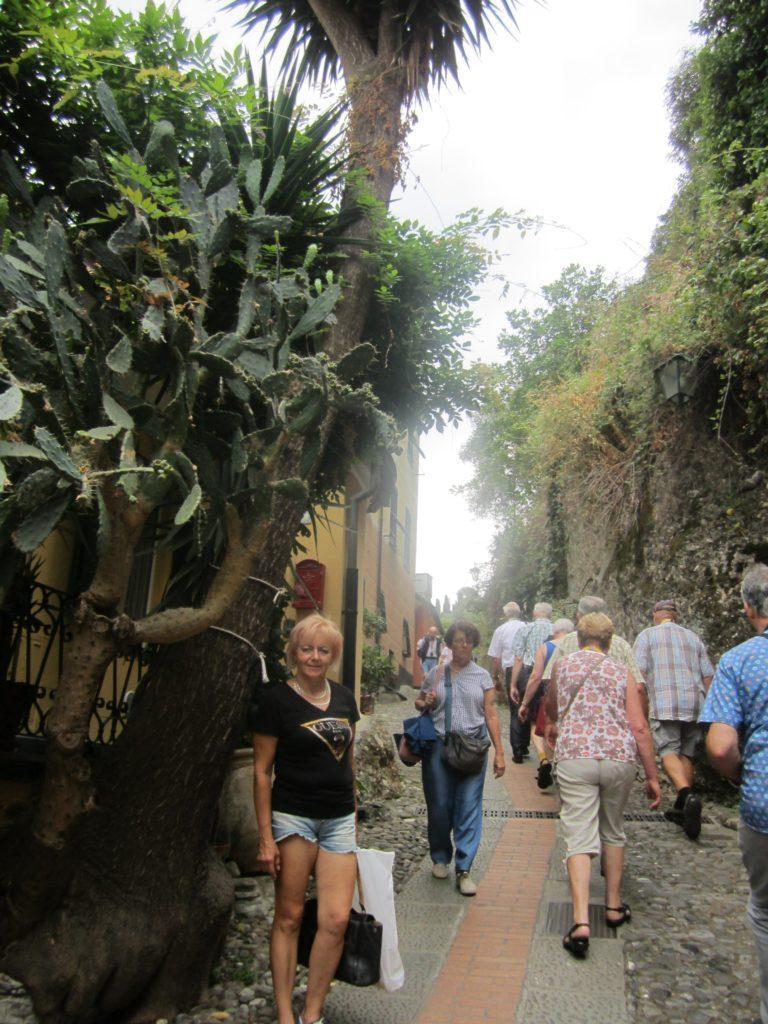 На улице в Portofino.