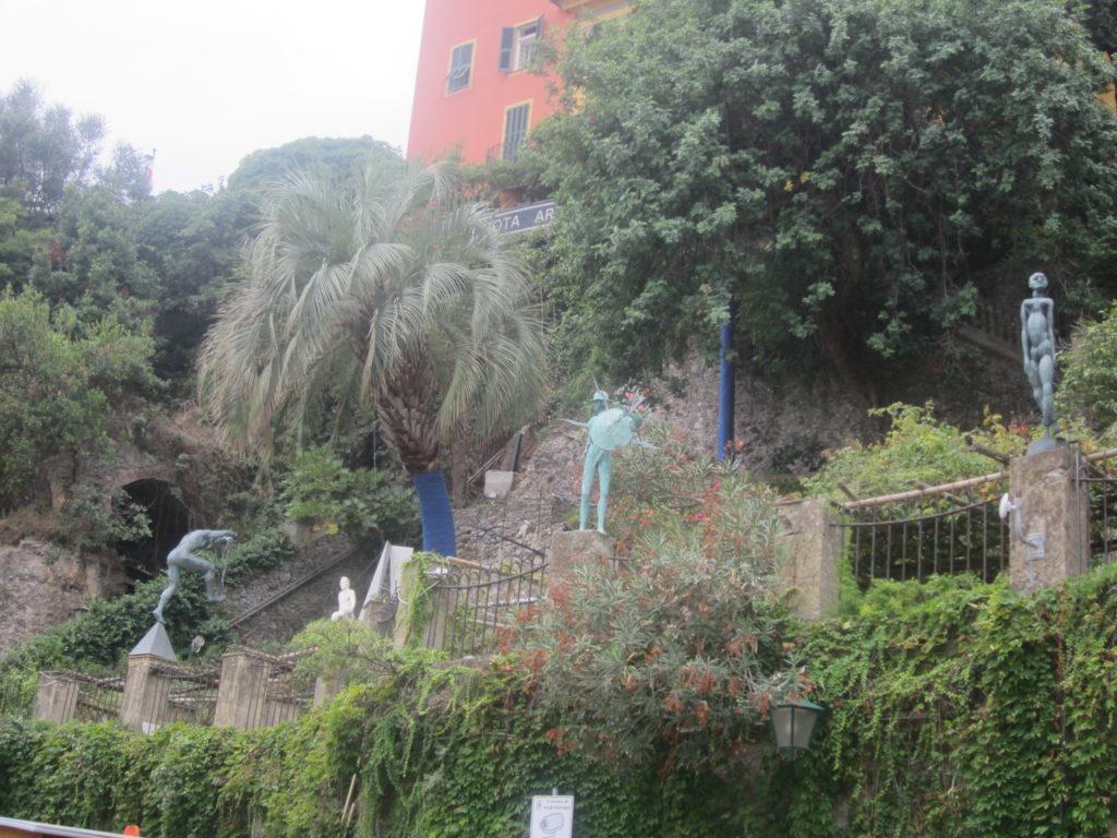 Парк в Портофино.