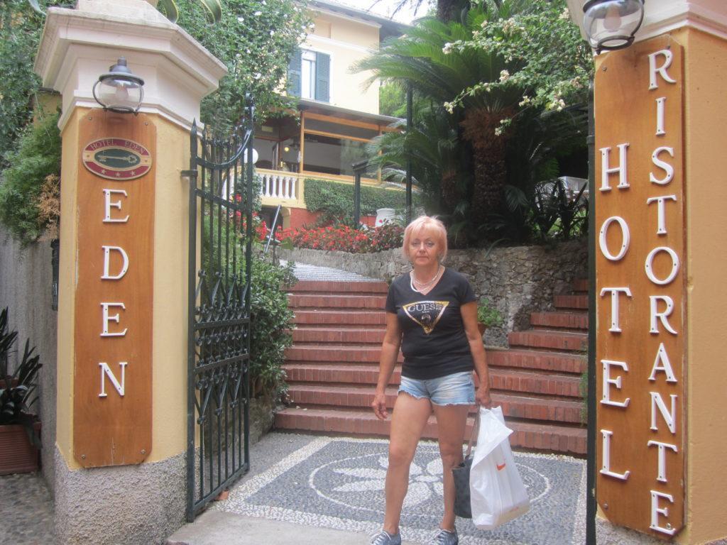 Отель в Портофино.
