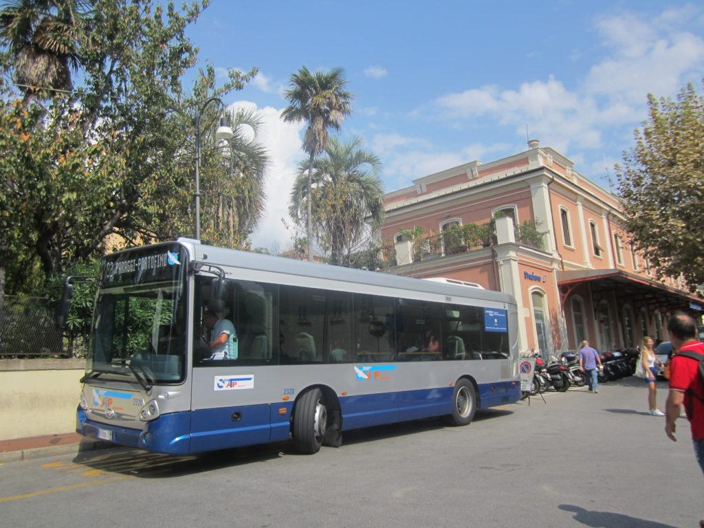 Остановка автобуса №82 из Санта-Маргарита-Лигуре в Портофино