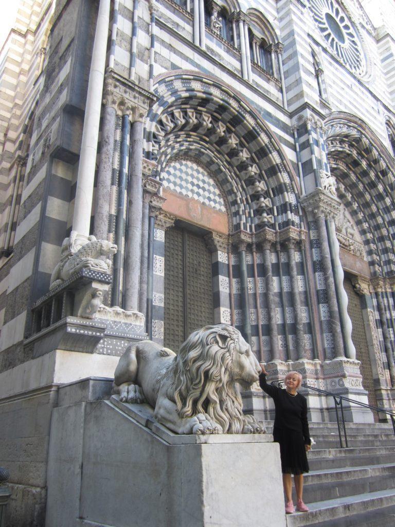 Генуя. Достопримечательность 1. Собор Сан-Лоренцо