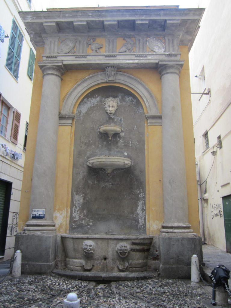 Piazza Vacchero. Генуя.