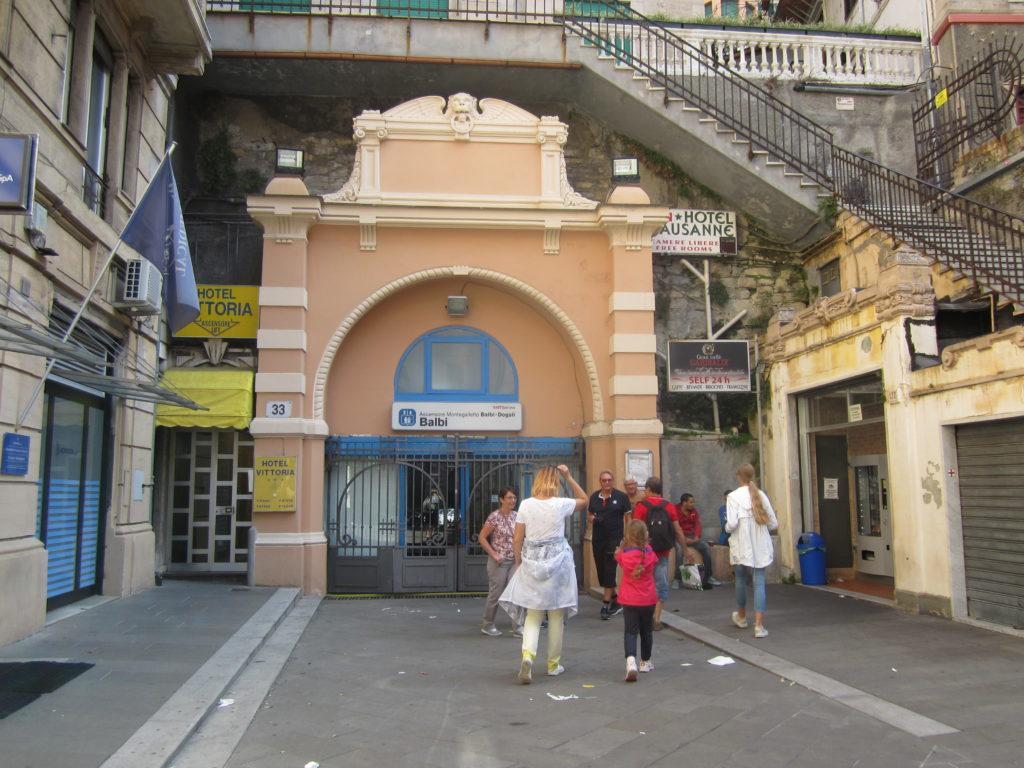 Лифт-фуникулёр Ascensore Montegalletto