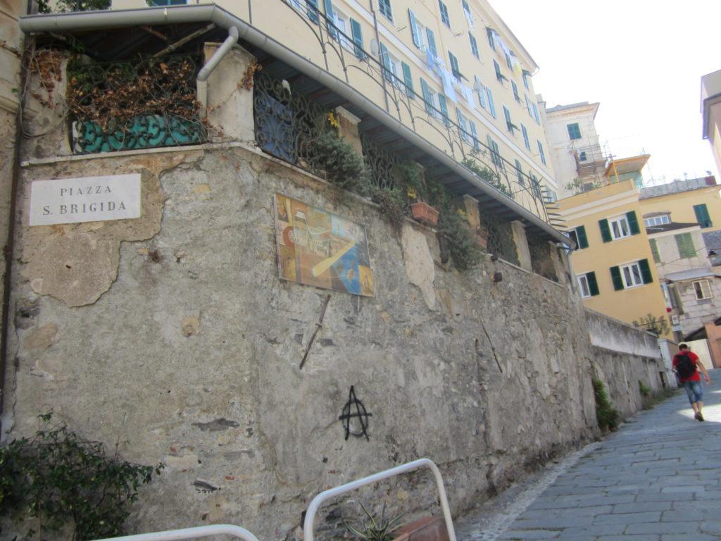Генуя. Площадь св. Бригиды