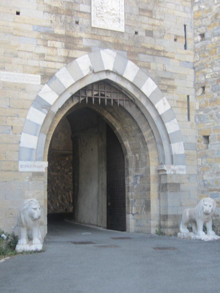 В Castello D'Albertis. Генуя