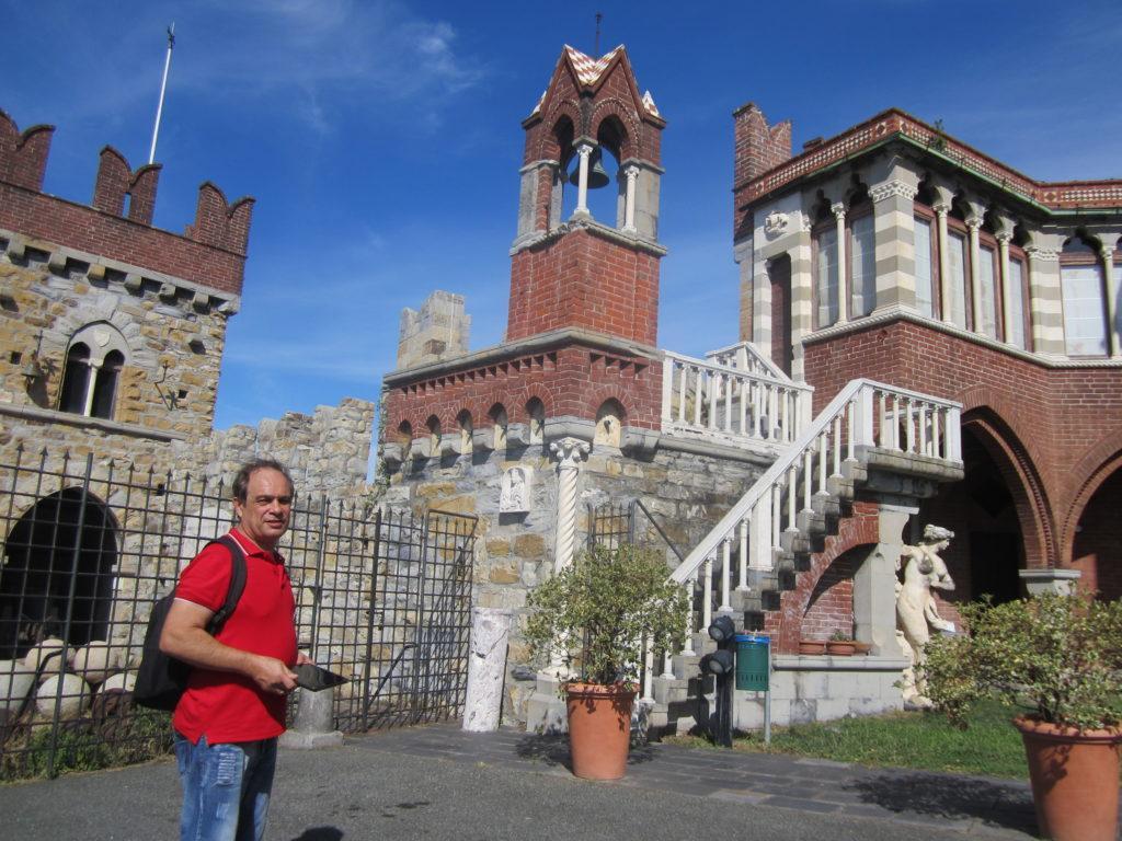 В Castello D'Albertis.