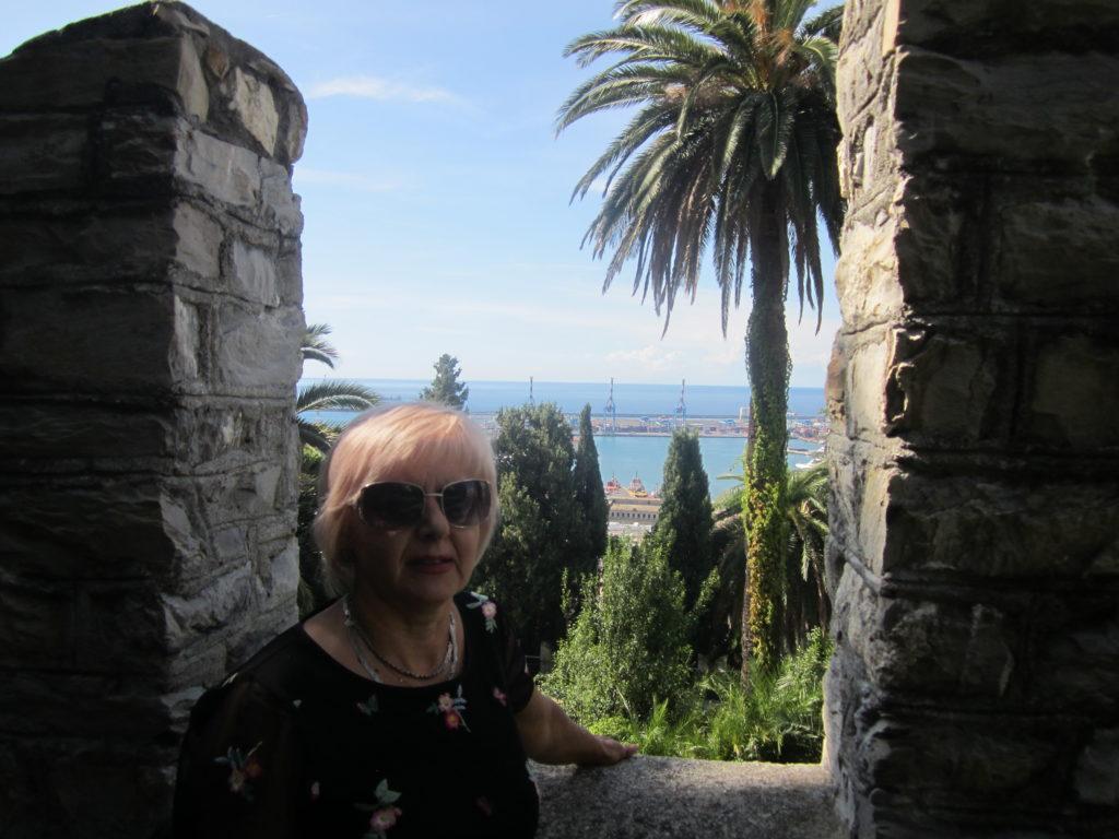 Вид на Геную из Castello D'Albertis.