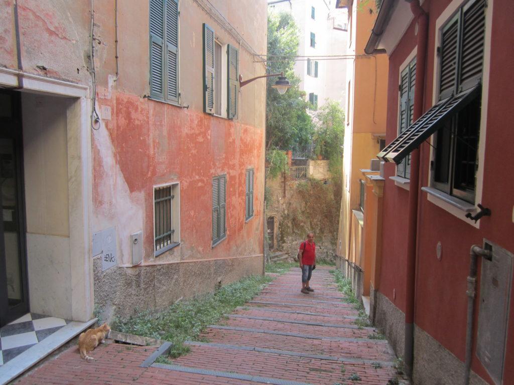 Улица из Castello D'Albertis. Генуя